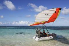 Летающая лодка в Punta Cana, Доминиканской Республике Стоковое Изображение