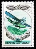 Летающая лодка плоское SH-2, 1930 Стоковые Фотографии RF