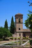 Летнее время дворца Альгамбра alhambra granada Испания Стоковые Фото
