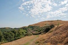 Летнее время в холмах Malvern Стоковое Изображение RF