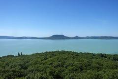 Летнее время и каникулы на озере Balaton Стоковые Фотографии RF