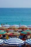 Летнее время на пляже Стоковое фото RF