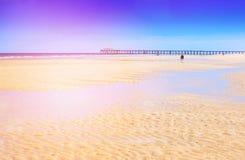 Летнее время на пляже Стоковые Фотографии RF