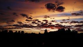 Летнее солнцестояние подъема Солнця Стоковое Изображение RF