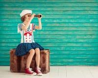 Летние каникулы и концепция перемещения Стоковые Изображения