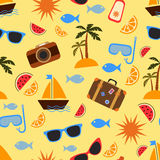 Летние каникулы и перемещение Стоковое Изображение