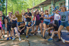 Летние каникулы потехи Стоковое фото RF