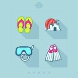 Летние каникулы Стоковые Фотографии RF