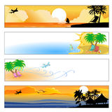 Летнии отпуска Стоковые Изображения