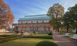 Летний дворец бельведера, королевских или ферзя Anneстоковые фотографии rf