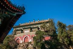 Летний дворец Пекина для посылки зданий схвата Lan Стоковая Фотография