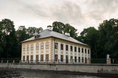 Летний дворец и каналы в Санкт-Петербурге, России Стоковые Изображения RF