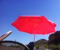 летний день бассейном под убийственным солнцем Стоковое Фото