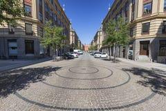 Летний день в Копенгагене стоковое изображение rf