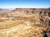 Летний день оправы гранд-каньона западный - Аризона, AZ Стоковые Изображения RF