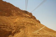 Летний день Masada стоковые изображения