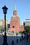 Летний день башни Кремля Стоковые Фото