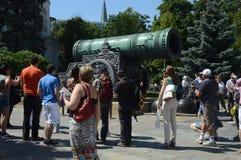 Летний день июль Andrey Chokhov карамболя 1586 царя Москвы Кремля мастерский стоковые фотографии rf