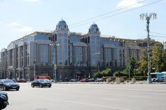 Летний день Novinsky коммерции и делового центра стоковые изображения