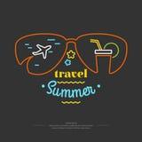 Летний отпуск иллюстрации Стоковые Изображения RF