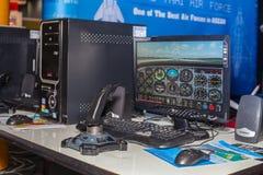Летный тренажер Стоковые Изображения