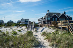 Лето †пляжных домиков «в Hamptons Стоковая Фотография RF