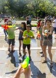 Лето боя водяного пистолета Стоковые Изображения RF
