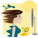лето вентилятора Стоковое Изображение