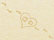 лето влюбленности Стоковое Изображение RF