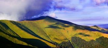 Лето в горе Стоковые Фотографии RF