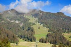 Лето в горных вершинах стоковое изображение