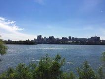 Лето в Монреале, Канаде Стоковые Изображения RF