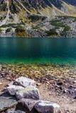 Лето в долине в высоких горах Tatra, Польше 5 озер Стоковые Фото