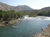 Лето в долине Panjshir, Афганистане Стоковые Фото