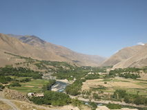 Лето в долине Panjshir стоковая фотография