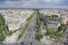 Лето в Париже стоковая фотография