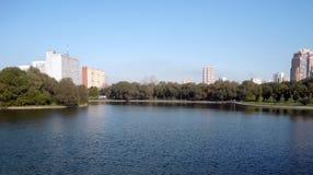 Лето в парке города Стоковая Фотография
