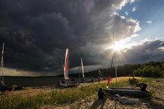 Лето в Сибире Стоковое Изображение RF
