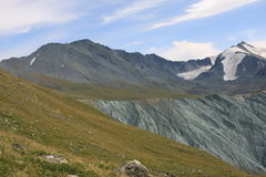 лето горы altai Стоковое Изображение