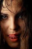 лето горячего портрета сексуальное Стоковое Изображение RF