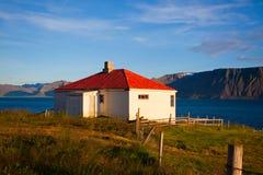 лето гор ландшафта Исландии Стоковое фото RF