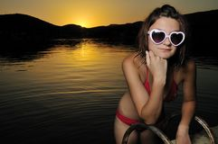 лето девушки Стоковое Изображение RF