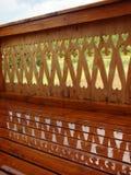 лето дождя балкона Стоковые Изображения