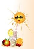 лето жары бесплатная иллюстрация