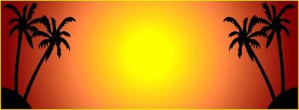 лето знамени Стоковая Фотография RF