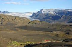 лето Исландии Стоковые Изображения RF