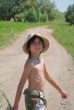 лето мальчика Стоковые Изображения RF