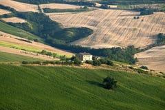 лето маршей ландшафта Италии Стоковое фото RF