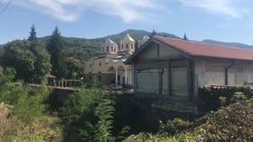 Лето монастыря Болгарии стоковая фотография