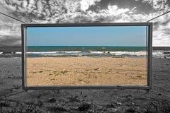 лето моря к окну Стоковое фото RF
